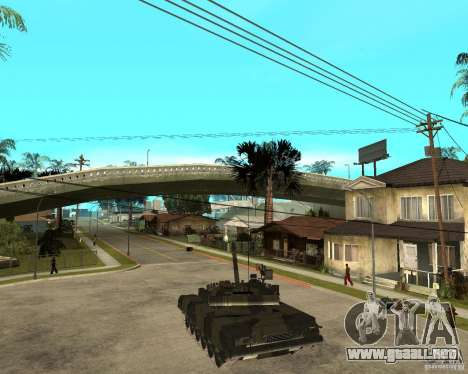 T-80U para GTA San Andreas left