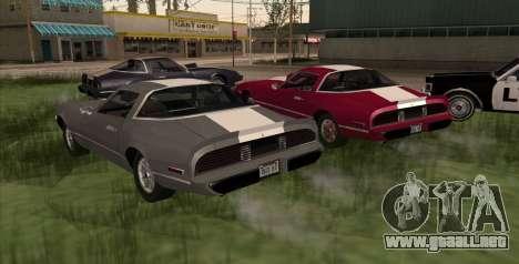 Eon Phoenix para GTA San Andreas left
