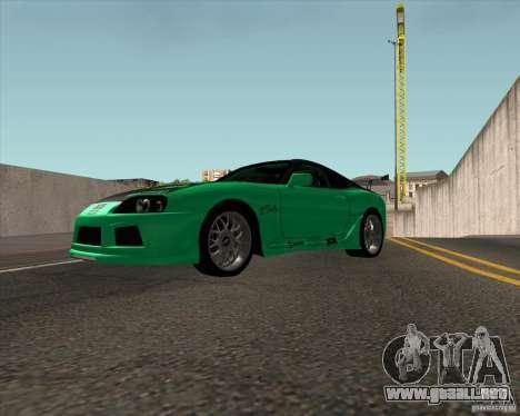 Toyota Supra ZIP style para la visión correcta GTA San Andreas