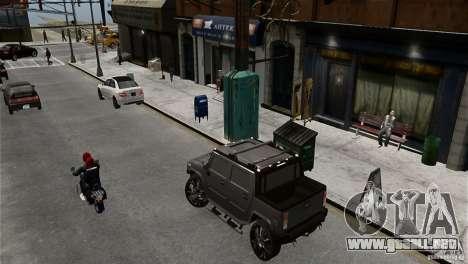 Hummer H2 SUT para GTA 4 left