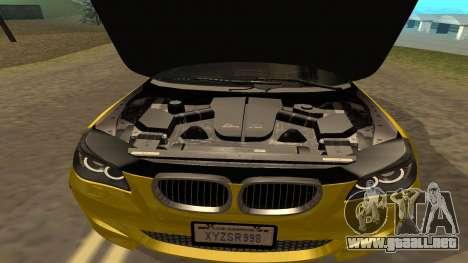 BMW M5 E39 para la vista superior GTA San Andreas