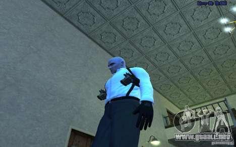 Agent 47 para GTA San Andreas segunda pantalla