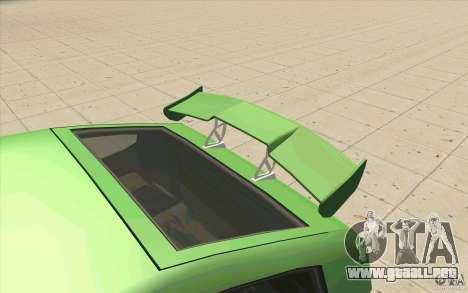 Mad Drivers New Tuning Parts para GTA San Andreas