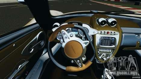 Pagani Huayra 2011 v1.0 [RIV] para GTA 4 ruedas