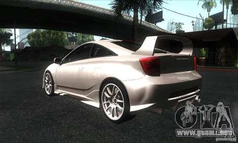 Toyota Celica-SS2 Tuning v1.1 para la visión correcta GTA San Andreas