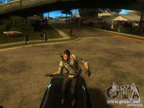 Animation Mod para GTA San Andreas quinta pantalla