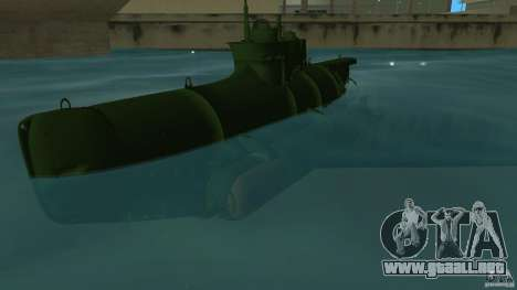 Seehund Midget Submarine skin 1 para GTA Vice City