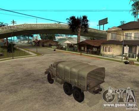 Ural-4230 para GTA San Andreas left