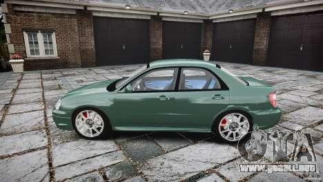 Subaru Impreza v2 para GTA 4 left