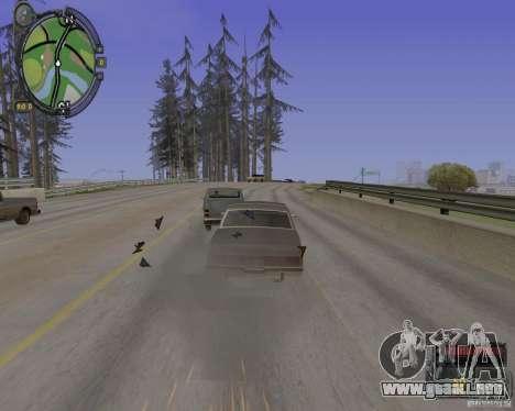 iCEnhancer beta para GTA San Andreas quinta pantalla