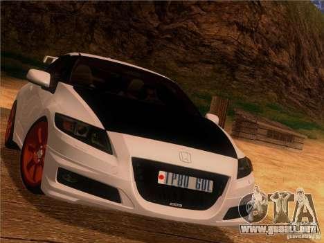 Honda CR-Z Mugen 2011 V2.0 para visión interna GTA San Andreas