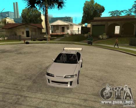 Honda Integra TUNING para vista lateral GTA San Andreas