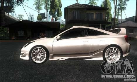 Toyota Celica-SS2 Tuning v1.1 para GTA San Andreas left