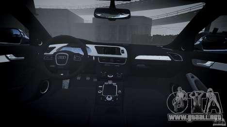 Audi S4 2010 para GTA 4 visión correcta