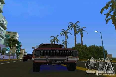 Volga GAZ 2402 para GTA Vice City vista lateral izquierdo
