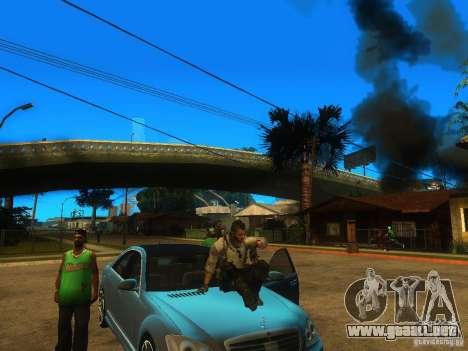 Animation Mod para GTA San Andreas tercera pantalla