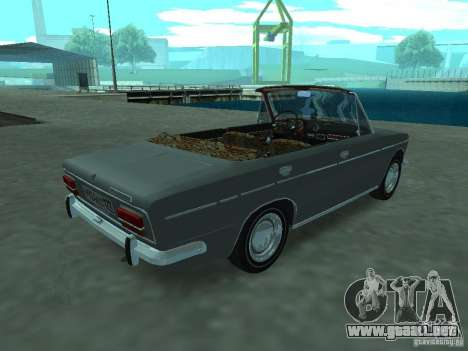 VAZ 2103 Cabrio para la visión correcta GTA San Andreas