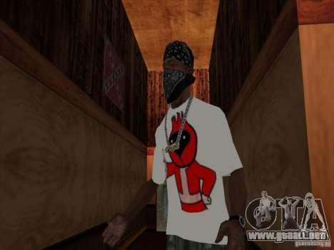 Omsk pájaro t-shirt para GTA San Andreas segunda pantalla