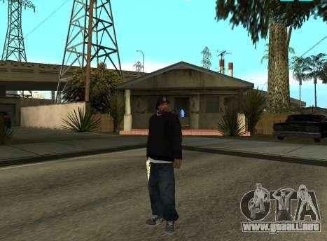 Ice Cube para GTA San Andreas segunda pantalla