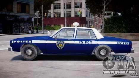 Chevrolet Impala Police 1983 [Final] para GTA 4 vista superior