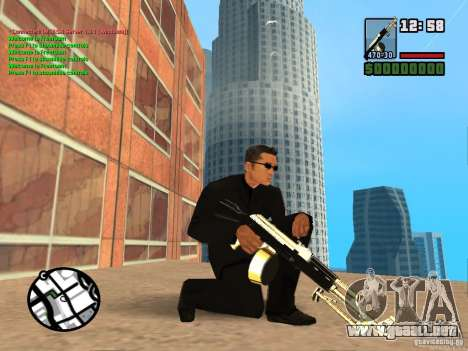 Gun Pack by MrWexler666 para GTA San Andreas sucesivamente de pantalla