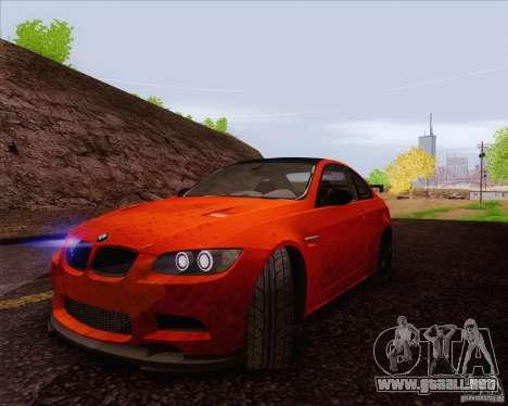 BMW M3 GT-S para visión interna GTA San Andreas