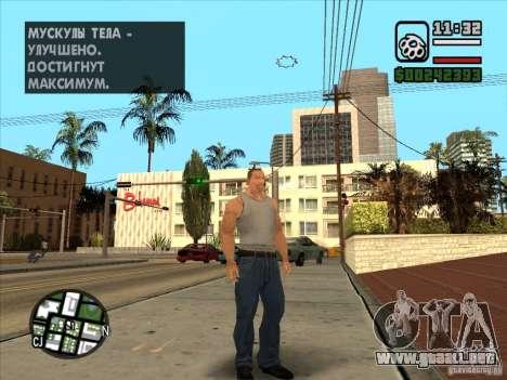 Cj blanco para GTA San Andreas segunda pantalla