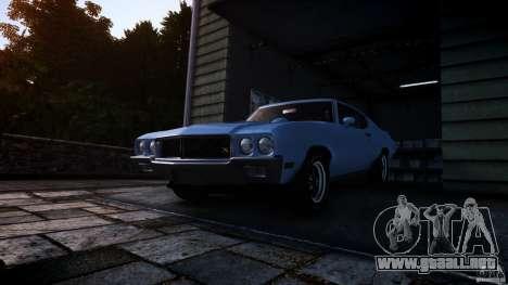 Buick GSX 1970 para GTA 4 visión correcta