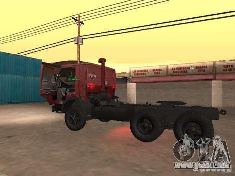 KAMAZ 5410 para visión interna GTA San Andreas