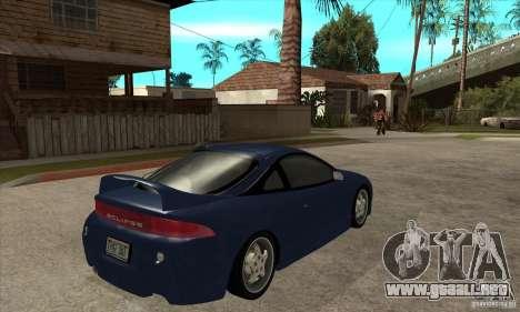 Mitsubishi Eclipse GSX - Stock para la visión correcta GTA San Andreas