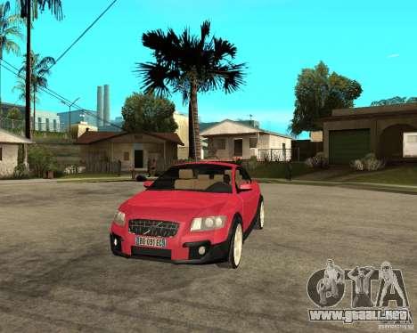 VOLVO C 30 T5 DEL 2008 para GTA San Andreas vista hacia atrás