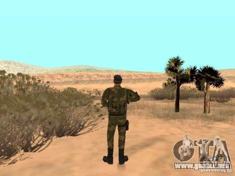 Comando soviético para GTA San Andreas tercera pantalla