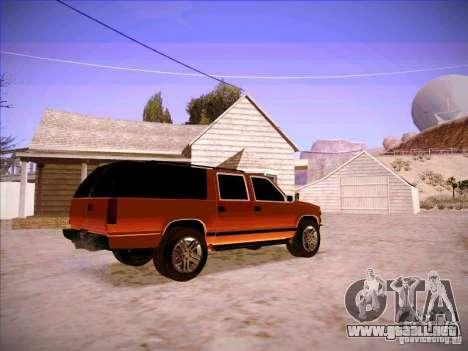 Chevrolet Suburban 1998 para la visión correcta GTA San Andreas