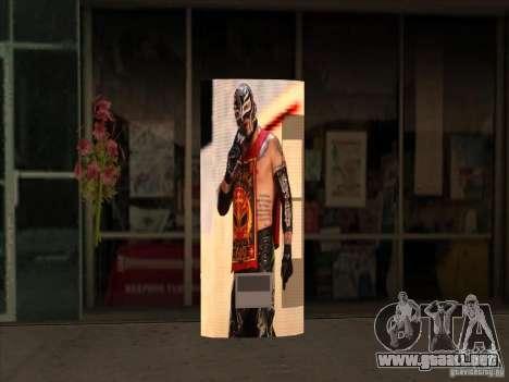 Gaseosa Ray Mysterio para GTA San Andreas
