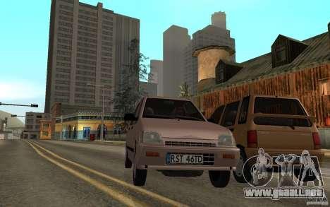 Daewoo Tico SX para visión interna GTA San Andreas