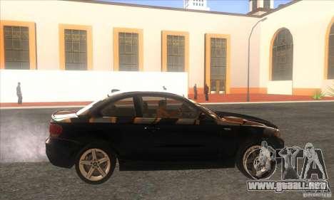 BMW 135i (E82) para GTA San Andreas left
