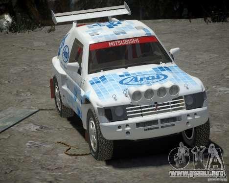 Mitsubishi Pajero Proto Dakar EK86 vinilo 3 para GTA 4 left