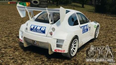 Colin McRae KING Rallycross para GTA 4 Vista posterior izquierda