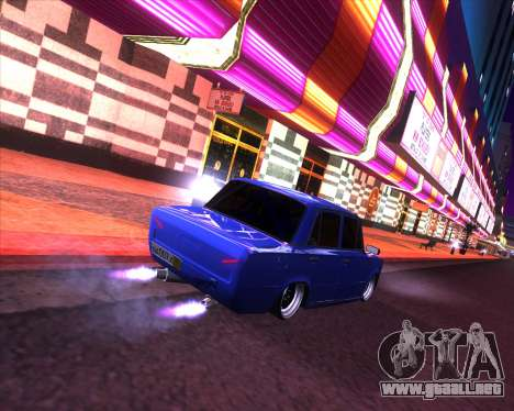 VAZ 2101 Drift Car para GTA San Andreas left