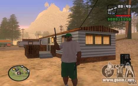 Double weapons para GTA San Andreas sucesivamente de pantalla