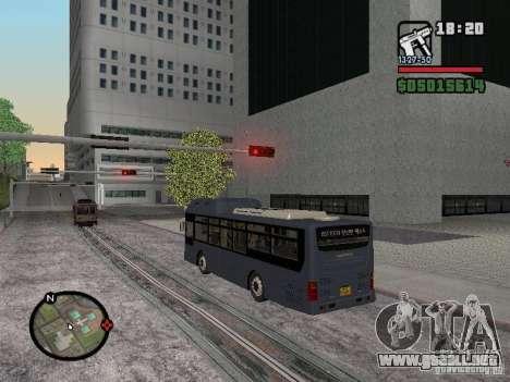 Daewoo BS110CN para la visión correcta GTA San Andreas