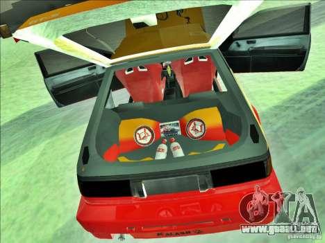 Toyota Trueno AE86 Calibri-Ace para GTA San Andreas vista hacia atrás