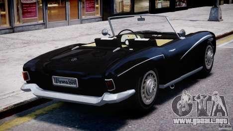 FSO Syrena Sport 1960 para GTA 4 Vista posterior izquierda