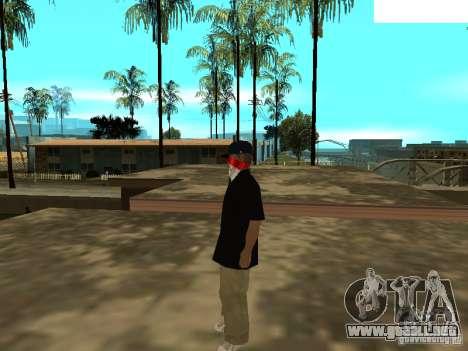 Mexicano Skin para GTA San Andreas segunda pantalla
