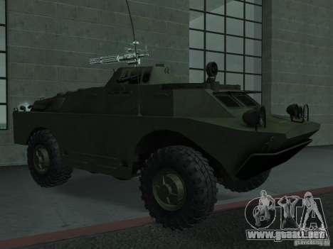 Swatvan con ametralladora para GTA San Andreas
