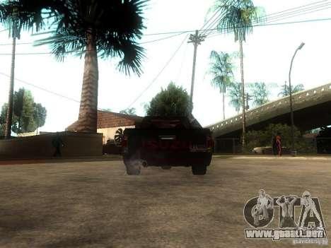 Isuzu D-Max para GTA San Andreas vista posterior izquierda
