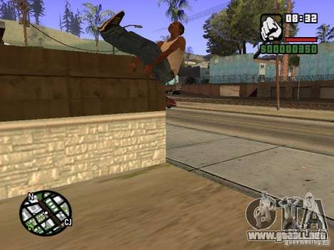 ACRO Style mod by ACID para GTA San Andreas novena de pantalla
