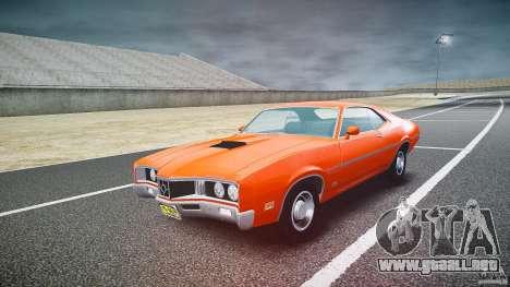 Mercury Cyclone Spoiler 1970 para GTA 4 vista hacia atrás