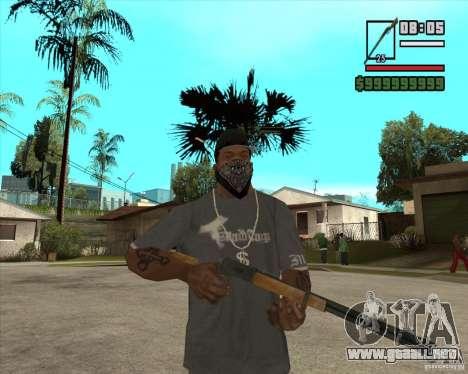 Call of Juarez Bound in Blood Weapon Pack para GTA San Andreas sucesivamente de pantalla