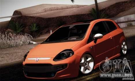 Fiat Punto Evo 2010 Edit para GTA San Andreas